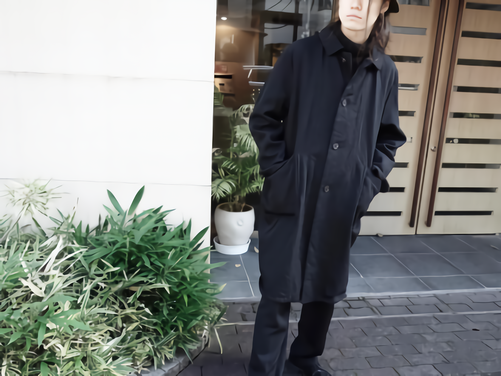 YAECA WRITE  A-Line Coat yaeca blog