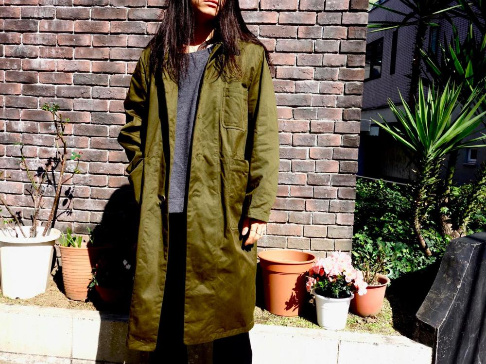 YAECA WRITE Over Coat yaeca blog