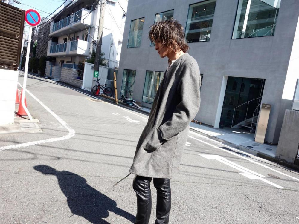 pimpstick Remake Swedish Liner Coat × Antique Japanese Fabric pimpstick_jp