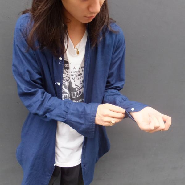 【pimpstick】Indigo Long Shirt pimpstick_jp blog