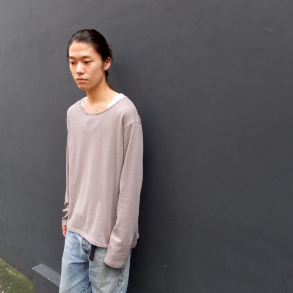 【roundabout】別注ロングカットソー roundabout blog