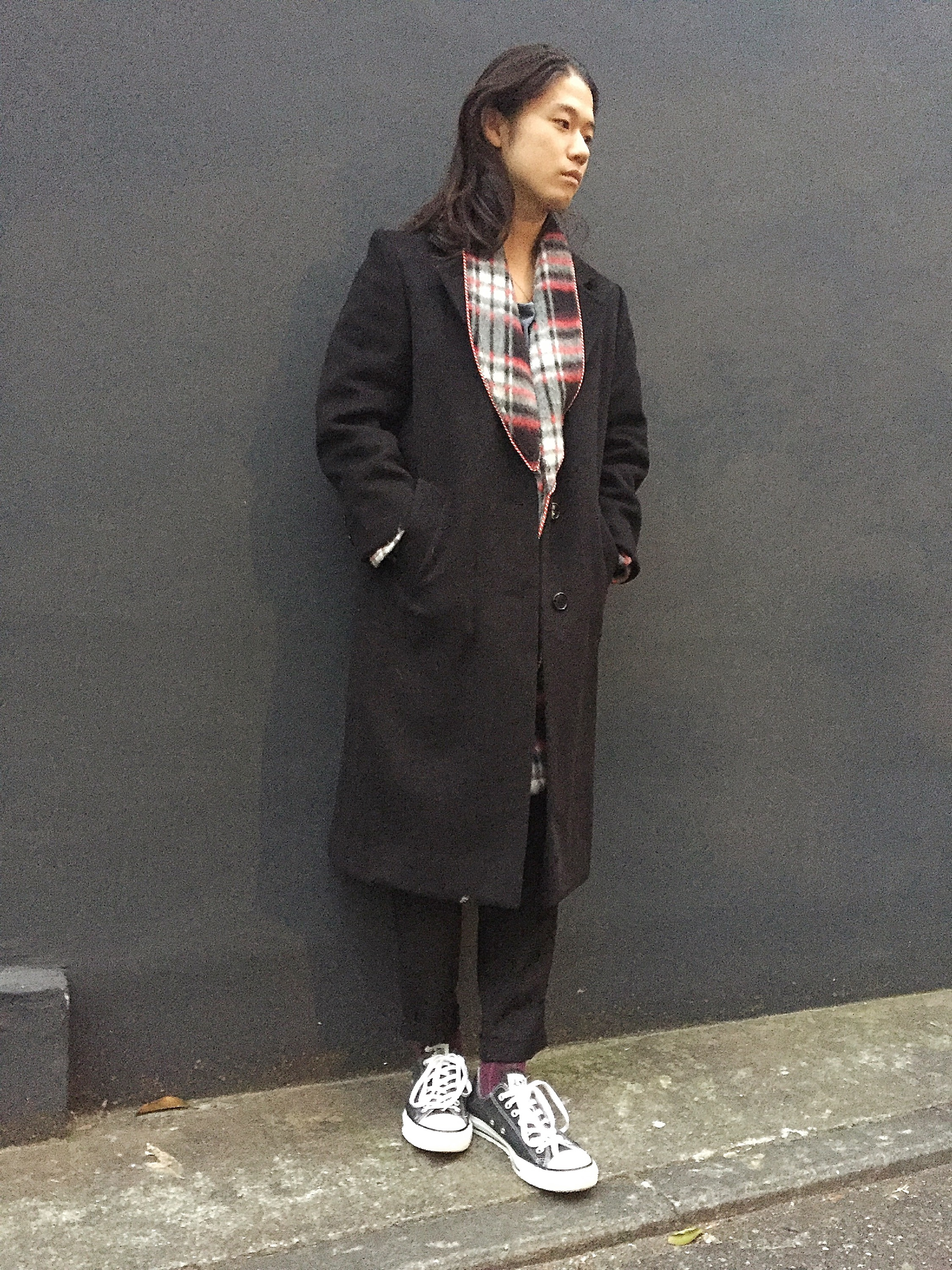 Black Wool Chesterfield Coat blog
