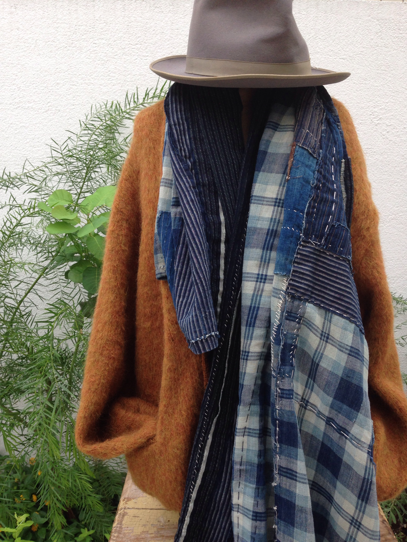 古い和の生地のリメイクアイテム。 blog