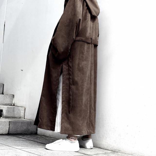 "Neo Suede ""JEDI""Coat threeblindmice blog"