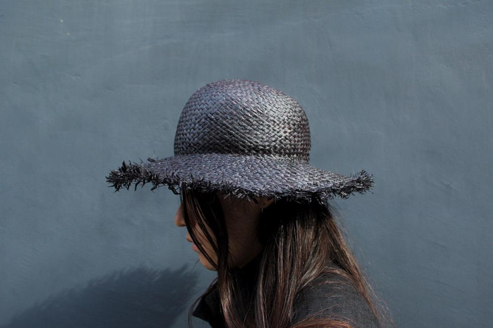 """roundabout""Wide Brim Straw Hat"