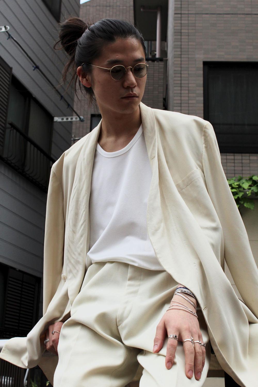 White Vintage Set Up Suit