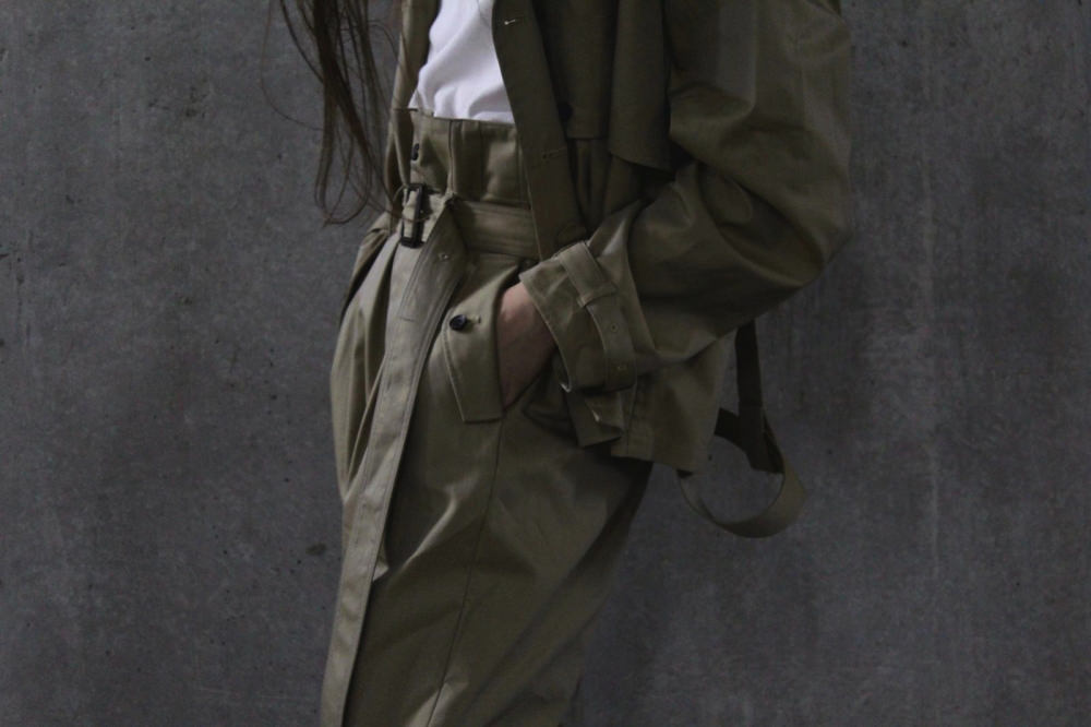 """Bernabeu"" Trench Pants"
