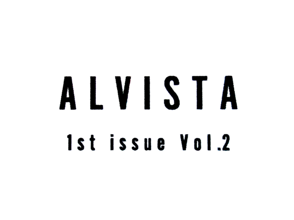 ALVISTA 1st issue Vol-2