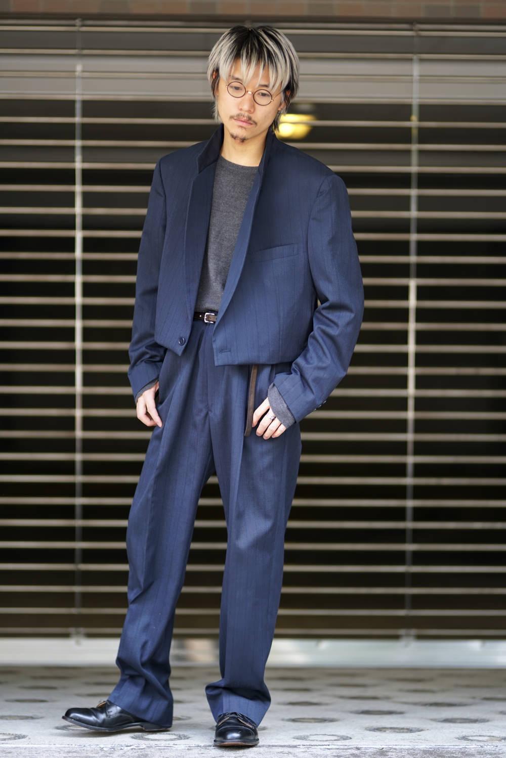 Remake Set Up Suit & Short Length Jacket