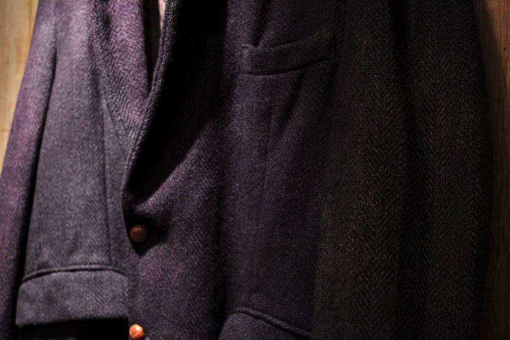 西染 Hand Dyed Harris Tweed Jacket